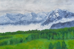 Misty Mountains 1 web 12x16 Oil